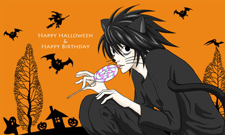 log in - Happy Halloween Birthday